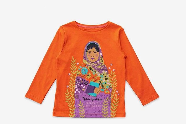 Piccolina Trailblazer Portrait Tee - Malala Yousafzai