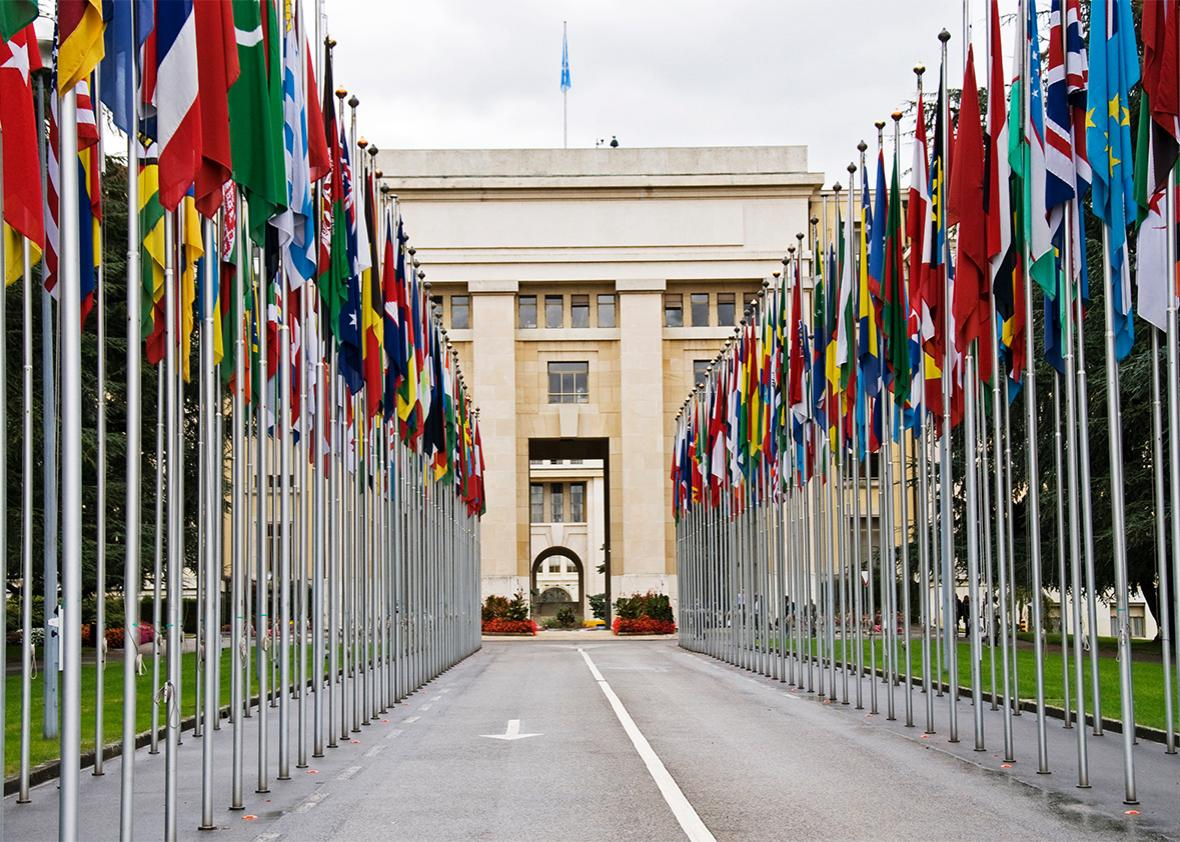 United Nations offices in Geneva.