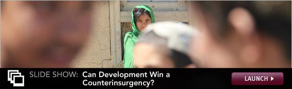 Click here to launch a slide show on counterinsurgency.