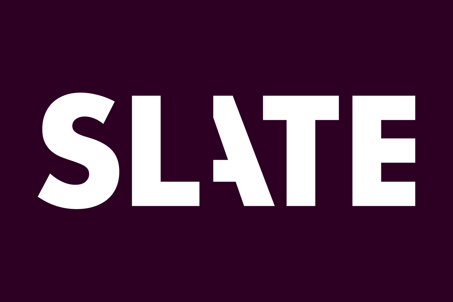 The new Slate logo.