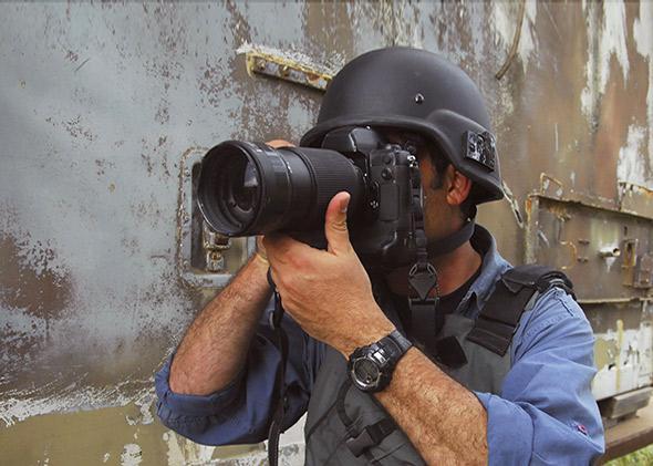 war photographer and dad.