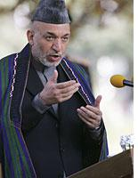 Afghan President Hamid Karzai          Click image to expand.