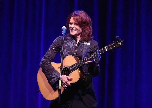 "Rosanne Cash performs onstage during the ""Nashville 2.0"" presentation at the 2013 Summer Television Critics Association tour in August 2013 in Beverly Hills, California."