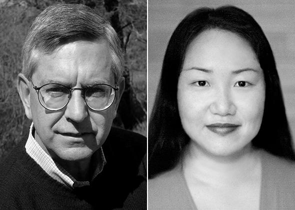 Editor Gerry Howard and author Hanya Yanagihara