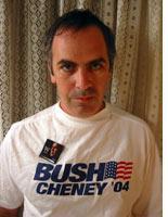In Bush-Cheney garb