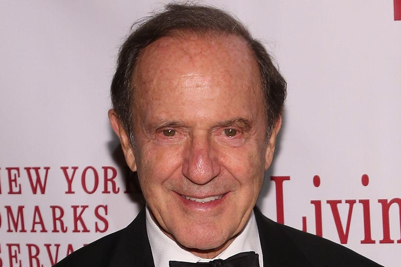 Mort Zuckerman at an event in New York.