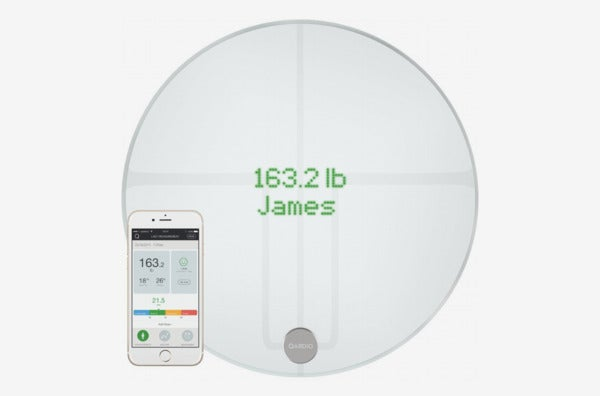 QardioBase2 WiFi Smart Scale and Body Analyzer.