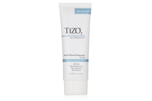 Tizo 3 Tinted Facial Mineral SPF40 Sunscreen.