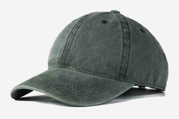 Edoneery Washed Twill Low Profile Baseball Cap Hat