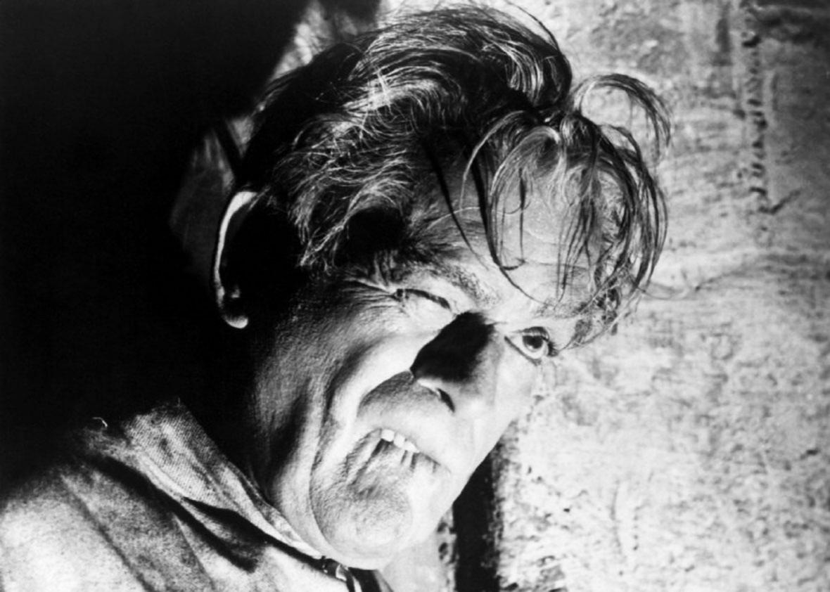 Boris Karloff in The Haunted Strangler.