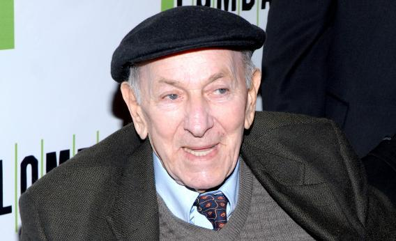 Jack Klugman attends the opening night of Lombardi on October 21, 2010