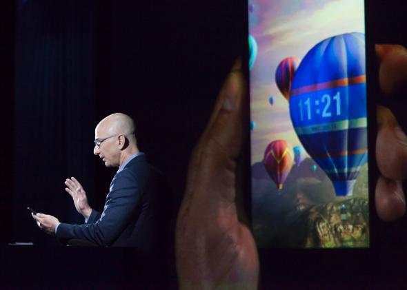 Amazon 3-D phone