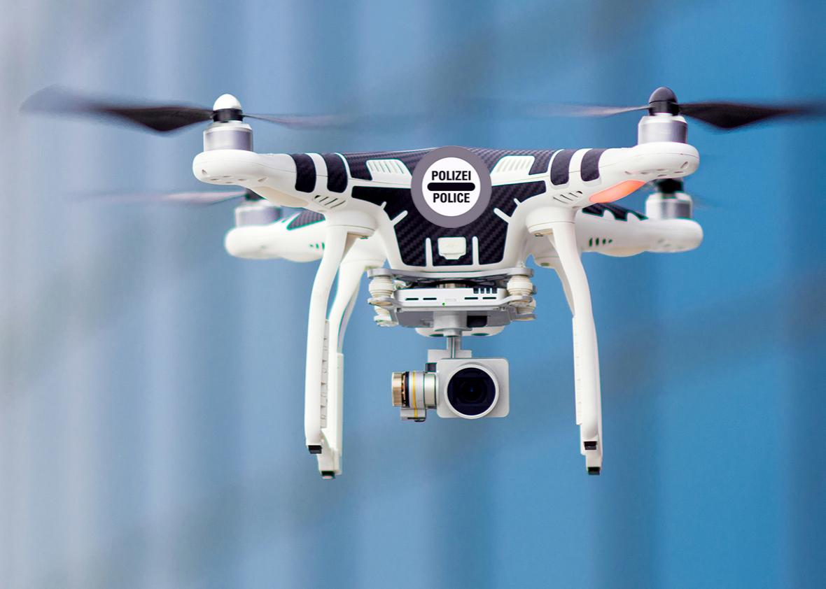 police drone.