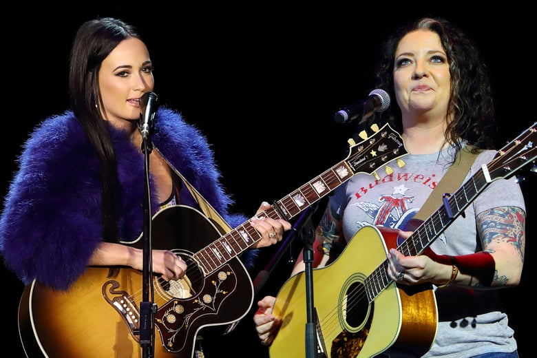 Kacey Musgraves and Ashley McBryde.