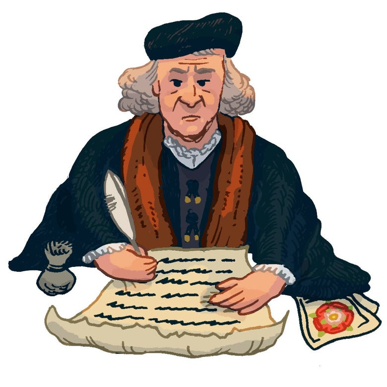 Illustration of Thomas Cromwell.