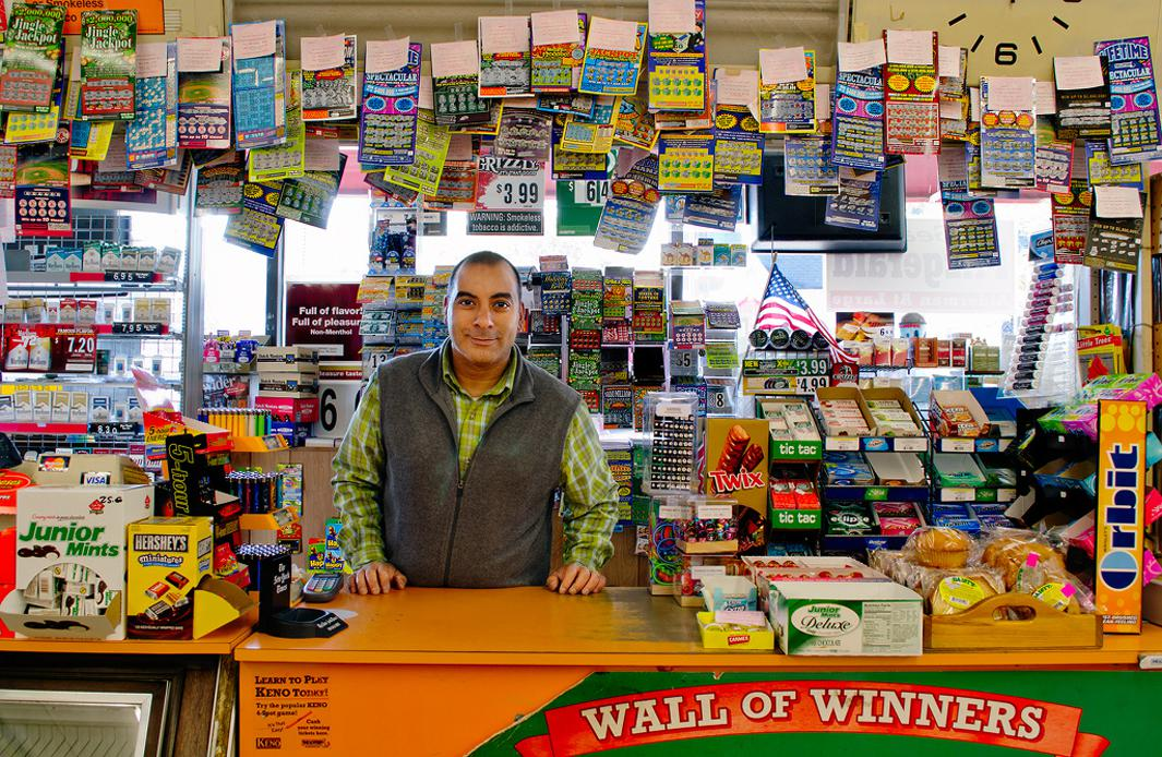 Amar, owner and proprietor of Neighborhood Market in Somerville, MA, sold a winning $1,000,000 scratch ticket. He used the $10,000 bonus commission to make a down payment on a house nearby, where he still lives with his wife and 2 daughters.