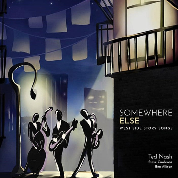 Somewhere Else album cover.