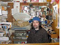 Tim in the Postal Closet