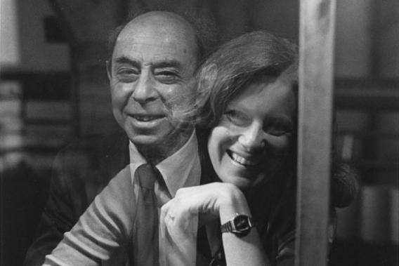 Frank Oppenheimer and the author, K.C. Cole.