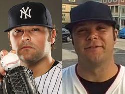 "Justin Louis ""Joba"" Chamberlain impersonated by Ryan Ward"