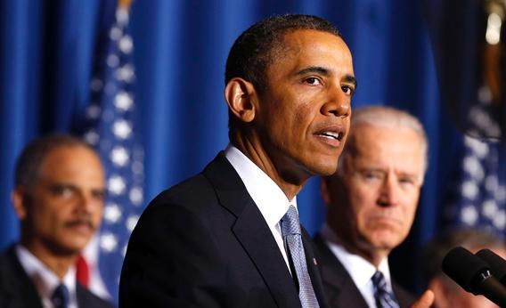 U.S. President Barack Obama speaking.