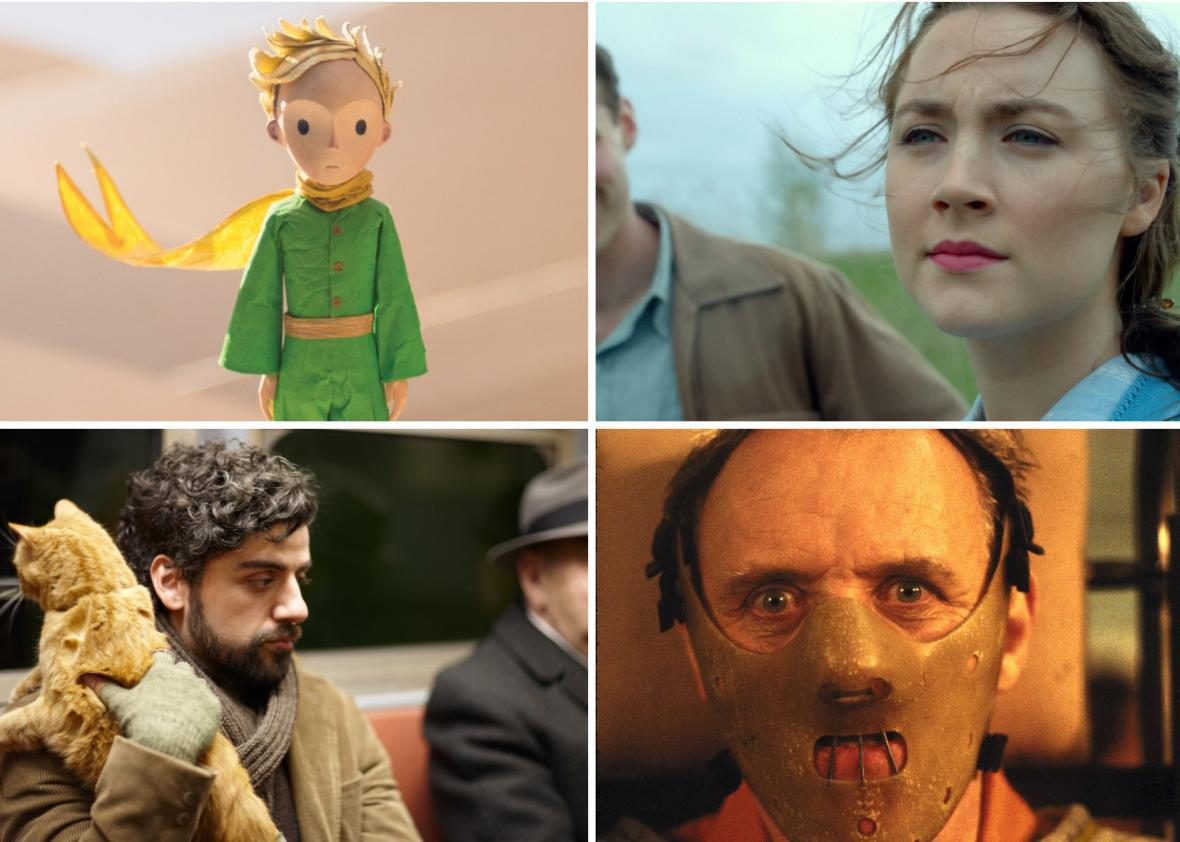 The Little Prince, Brooklyn, Inside Llewyn Davis, and The Silence of the Lambs
