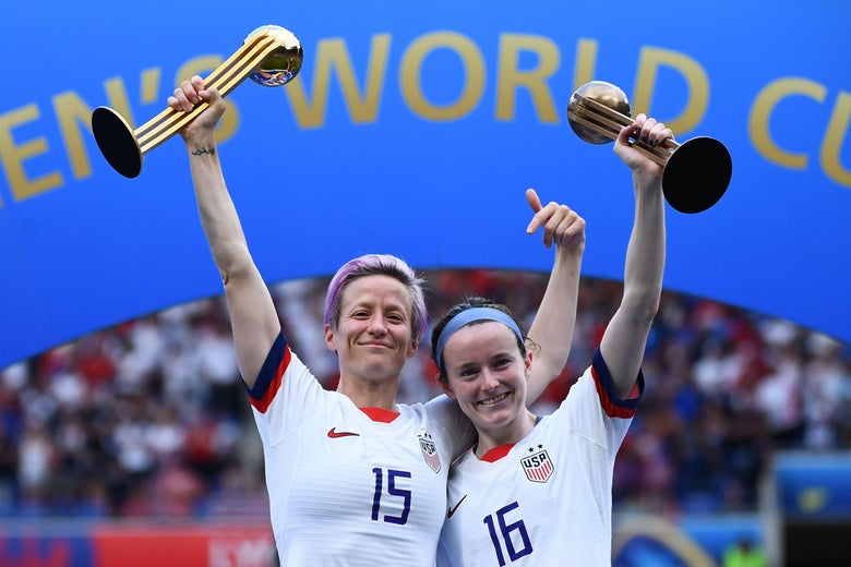 Megan Rapinoe Owned This World Cup. Rose Lavelle Will Own the Next Four Years.
