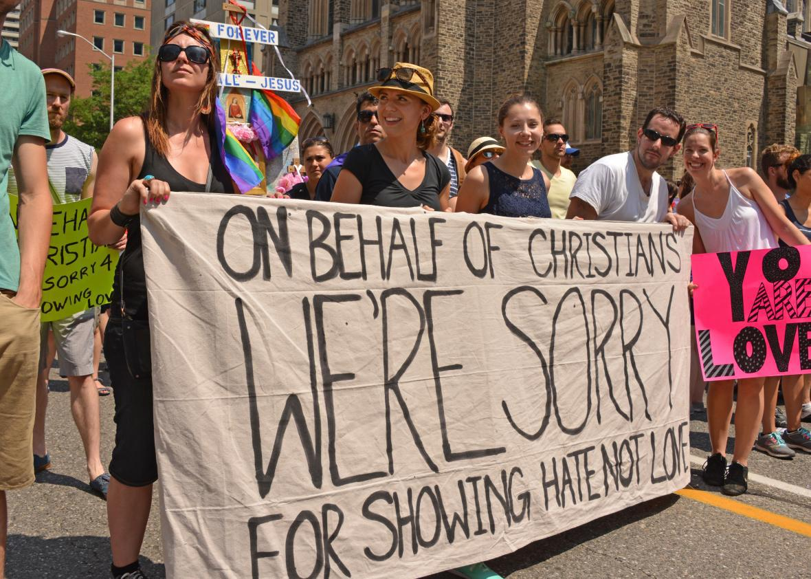 Gay christians in the closet