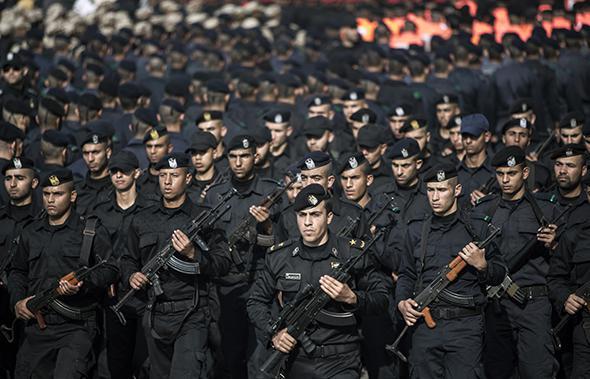 Hamas military parade, 2014
