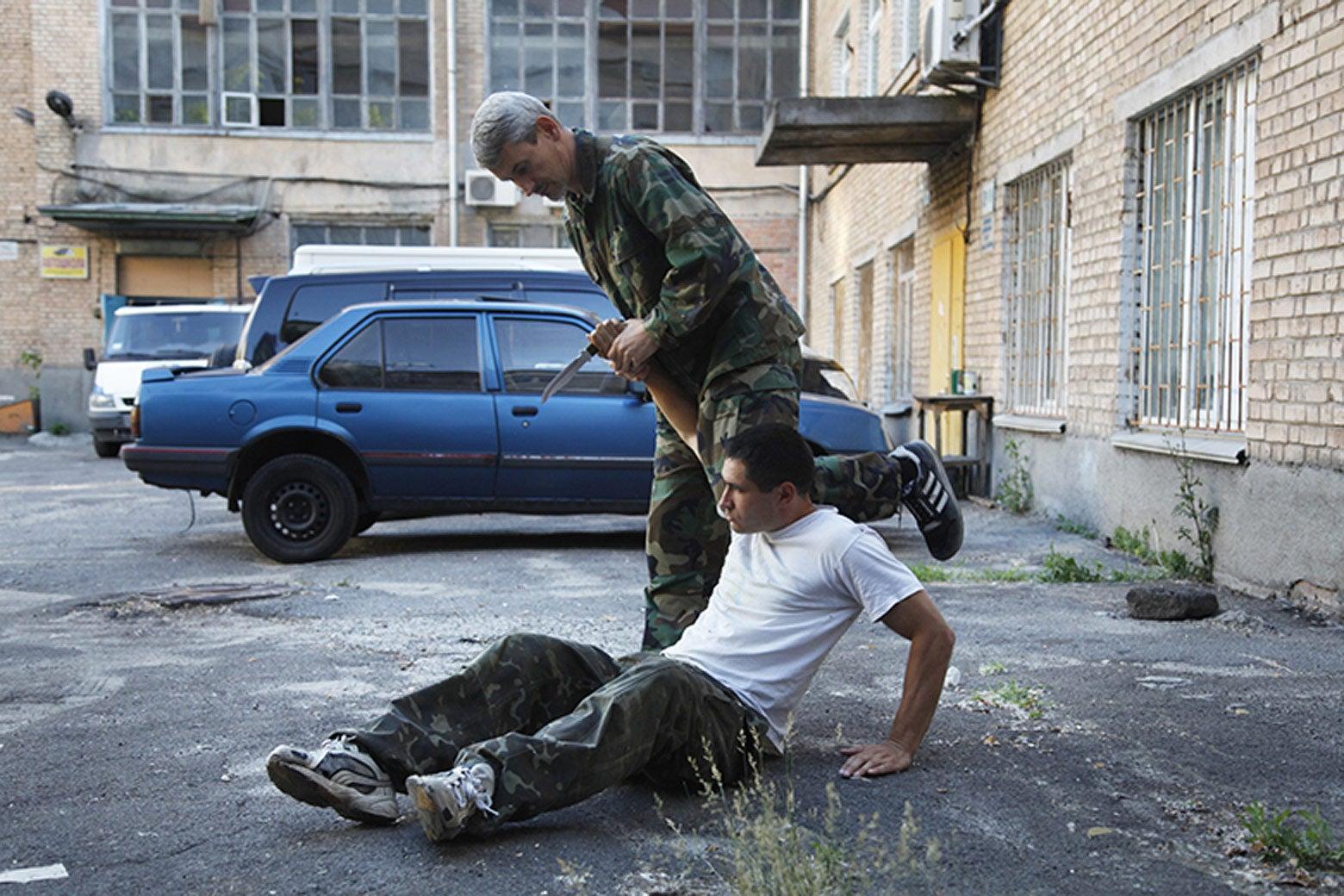 Soviet martial arts.