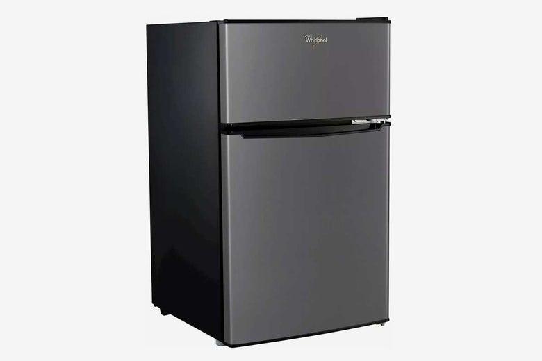 Whirlpool 3.1 cu ft Mini Refrigerator Stainless Steel