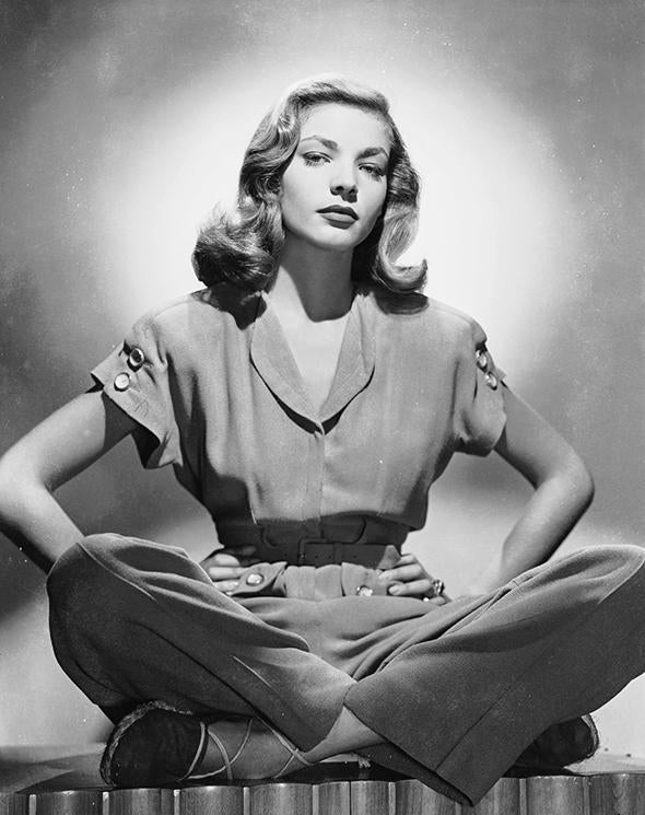 Lauren Bacall, c1945.