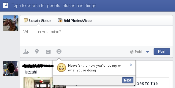 "Facebook: ""What are you doing?"""