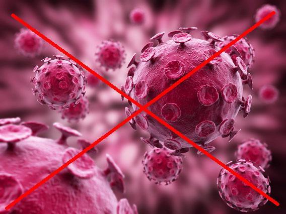 Artwork of a virus