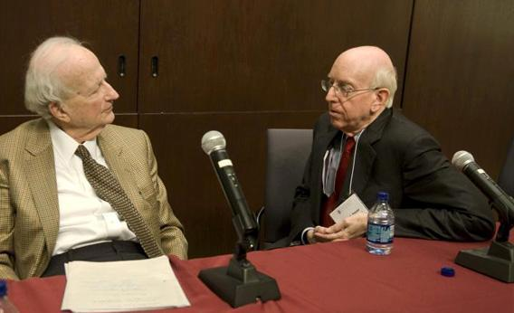 Gary Becker and Richard Posner.