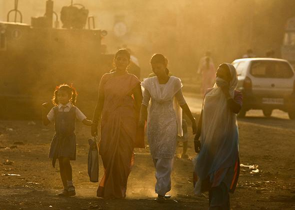 Haze in Mumbai, 2009