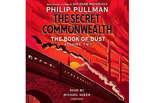 Audiobook cover of The Secret Commonwealth.
