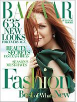 Harper's Bazaar cover. Click image to expand.
