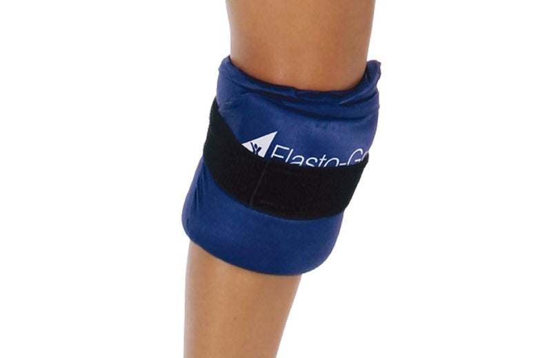 Cold therapy brace.