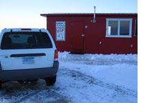 Home sweet ice fishing house         Click image to expand.