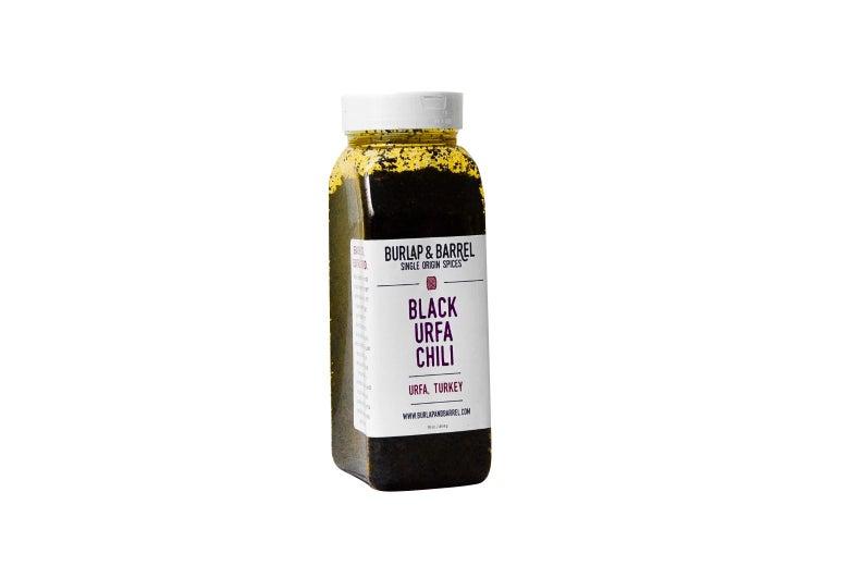 Black urfa chili.