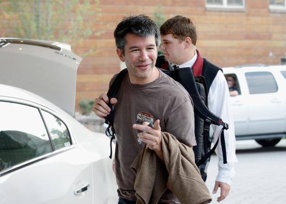 Travis Kalanick, CEO and co-founder of Uber.