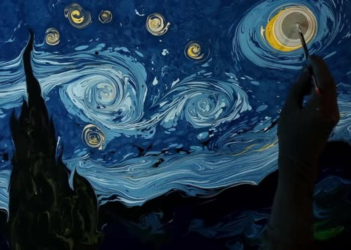 Painting on Water