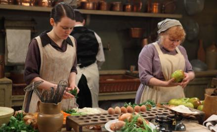 Daisy and Mrs. Patmore