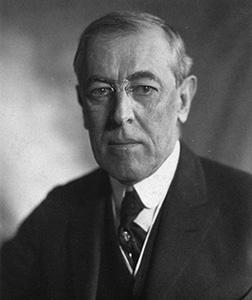 Woodrow Wilson. Click image to expand.