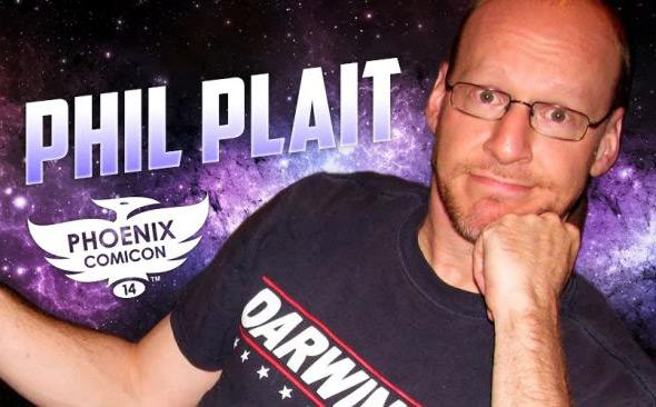Phil Plait and Phoenix Comicon