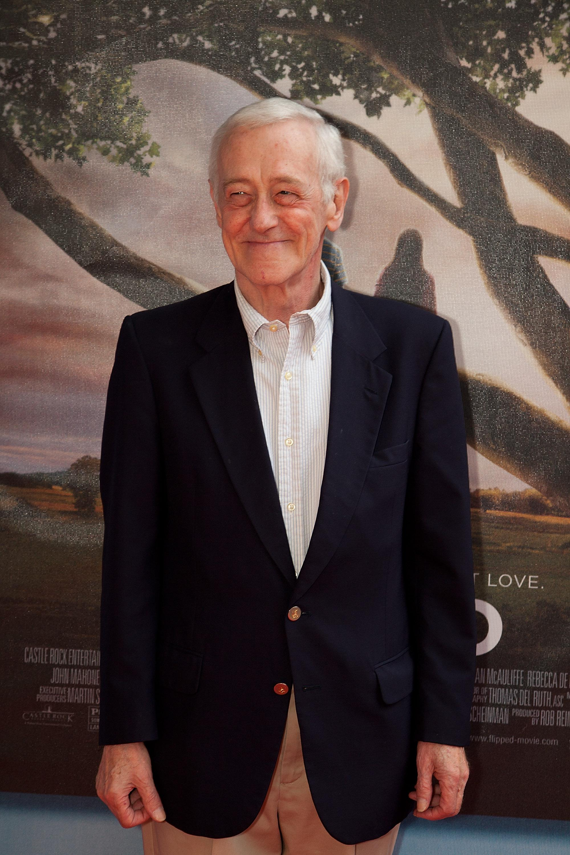 John Mahoney attends the premiere of Flipped at the Hilbert Circle Theatre in Indianapolis, Indiana, 2010.