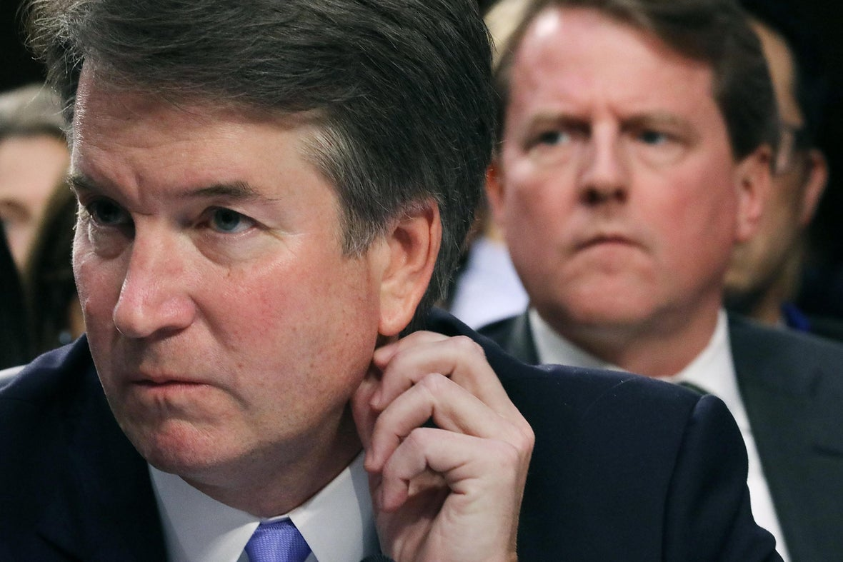 Woman Who Accused Kavanaugh of Sexual Assault Comes Forward to Tell Her Story