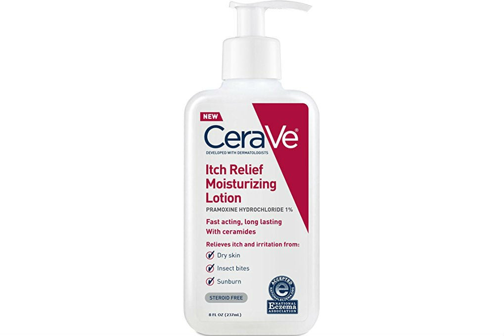 CeraVe Itch Relief Moisturizing Lotion 8 oz With Pramoxine Hydrochloride