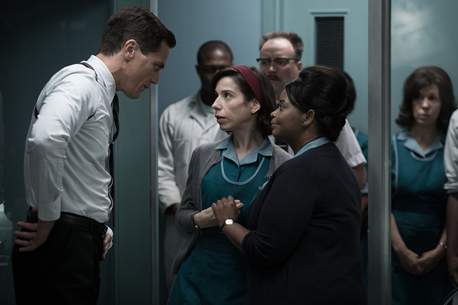 Michael Shannon, Sally Hawkins, and Octavia Spencer